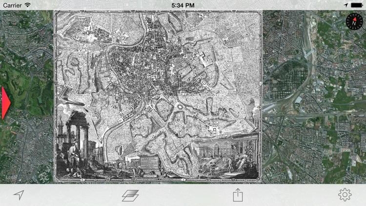 Nolli - Navigate 18th century Rome screenshot-3