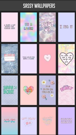 Sassy Wallpapers Dans L App Store