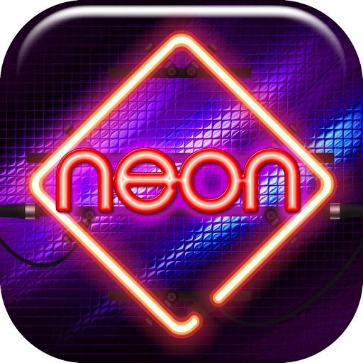 Neon Wallpaper Maker Free - Glowing Lock Screen Themes and Custom Glitter Background.s HD