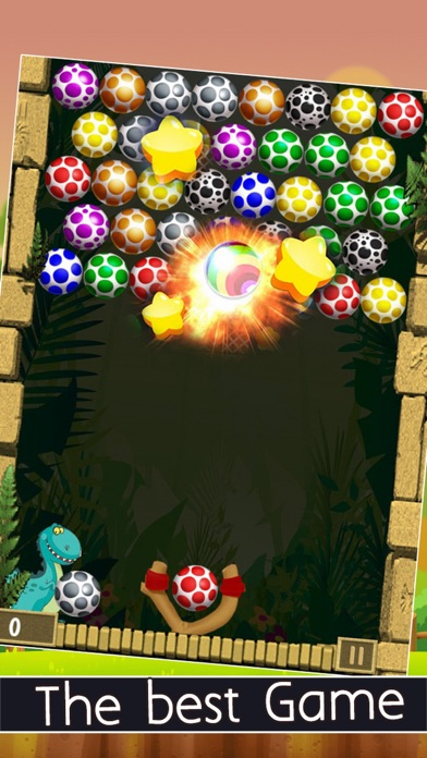New Bubble Eggs Shooter 2016 Edition screenshot one