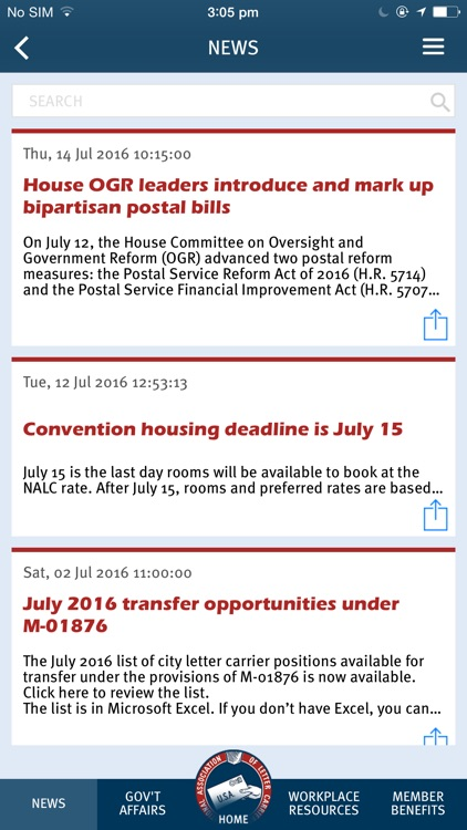 NALC Member App screenshot-2