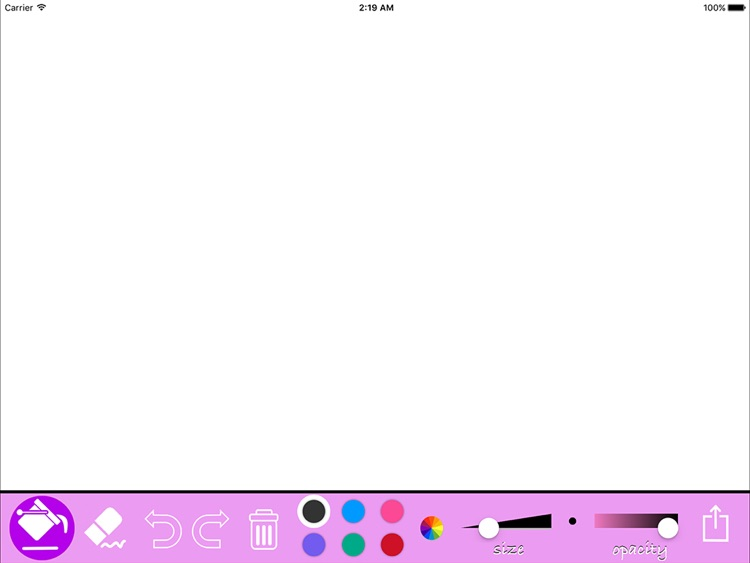 Kids drawing App - Simple Draw & Coloring Tool For iPad