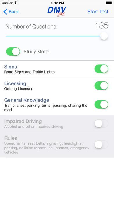 Michigan DMV Test Prep screenshot two