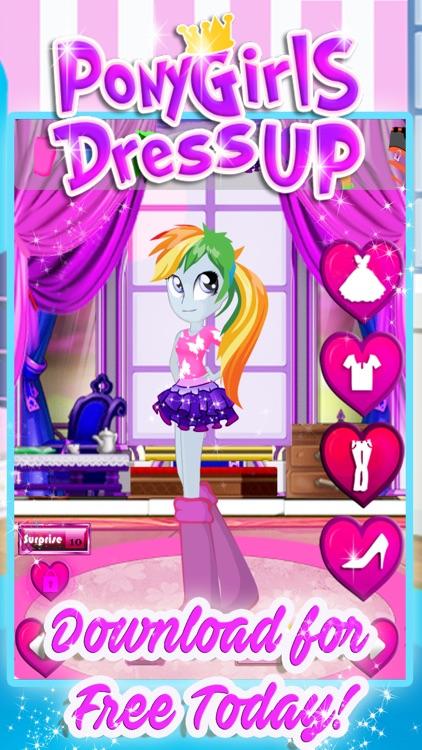 Love Pony Dress Up Games screenshot-3