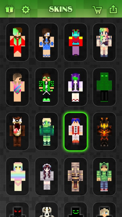 Skin.s Creator for PE - Pixel Texture Simulator & Exporter for Mine.craft Pocket Edition Lite