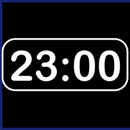 Simple Digital Clock : horizontal digital time, brightness, color and font changeable