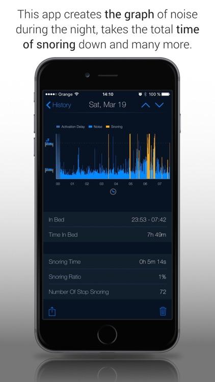 Snore Stopper! Lite screenshot-4