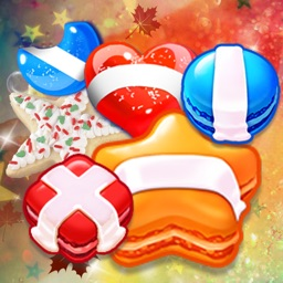 Cookie Crush : a cool puzzle game to have fun