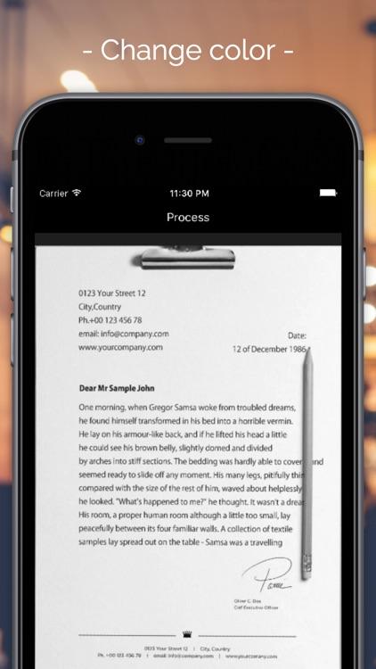 Scanbox - Document & print scanner screenshot-3