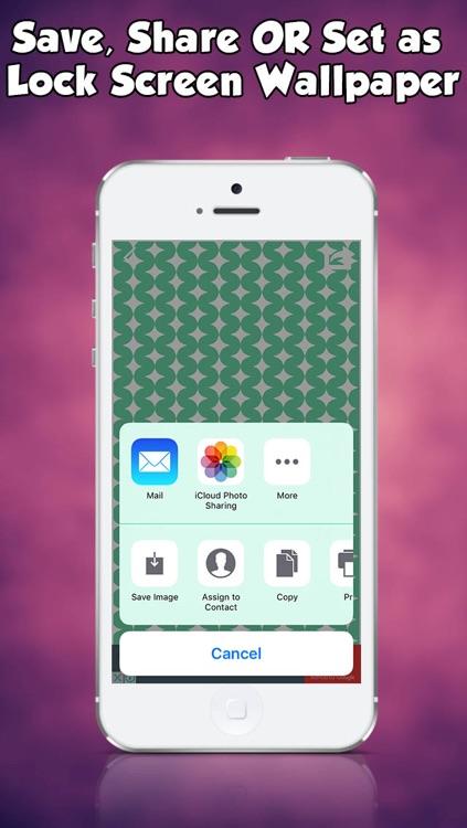 Patterns Cool Wallpapers Retina HD for iOS 9 iPhone iPod & iPad screenshot-3