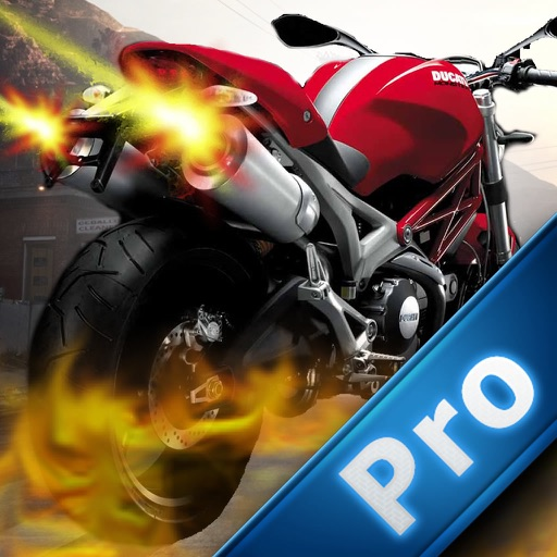 A Motorcycle Vanguard Adventure PRO - A Crazy Motocross Game in the city icon