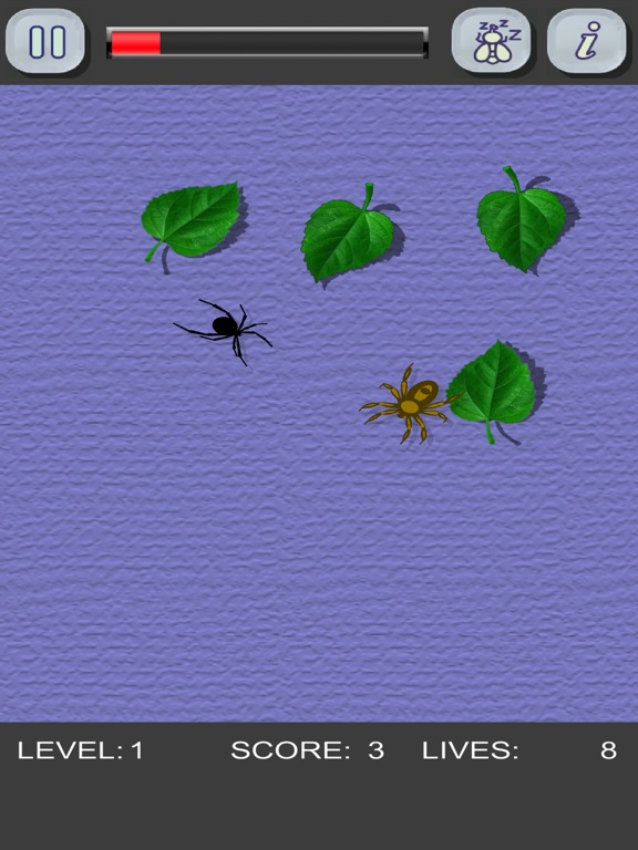 Скачать игру Убей пауков! Только не трогай