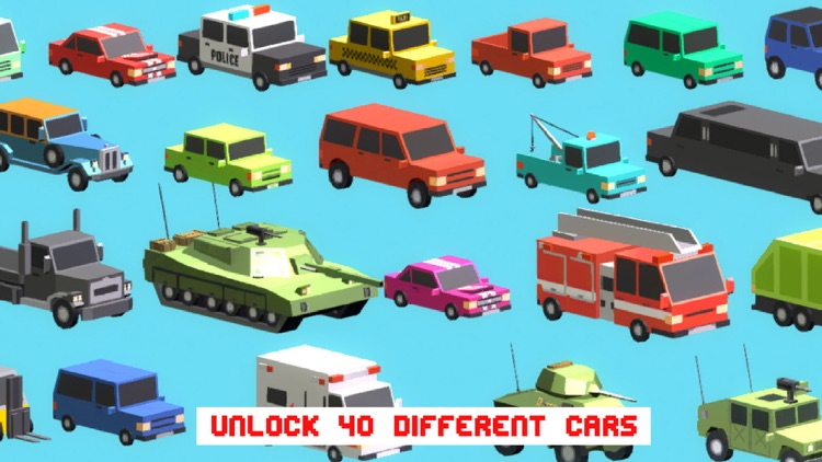 Smashy Dash 3 - PRO Crossy Crashy Cars and Cops - Wanted