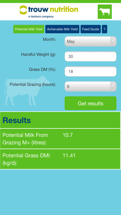 TN Milk Yield From Grazing 1.0