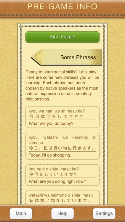 StudyChat Japanese - Learn Speaking Listening Game