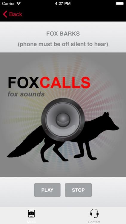 REAL Fox Calls & Fox Sounds for Fox Hunting - BLUETOOTH COMPATIBLE screenshot-0
