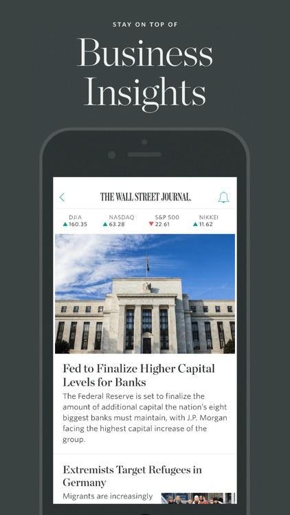 The Wall Street Journal – Business & Markets News