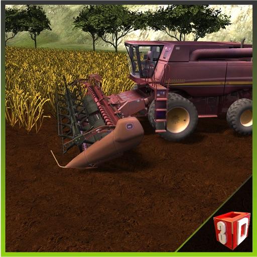 simulador de granja cosechadora - Cría de conducir el tractor y camión juego de simulador