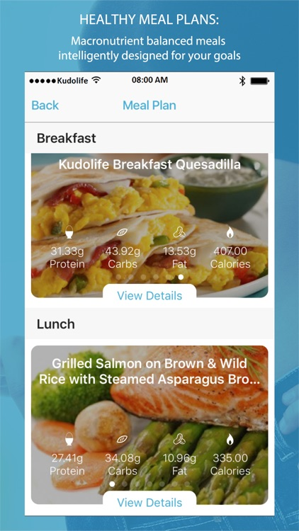 Kudolife - 7 Day Healthy Meal Plans & Recipes