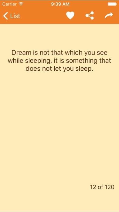A. P. J. Abdul Kalam - The best quotes screenshot four