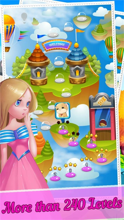 Amazing Bubble Pet Go Adventure - Pop And Rescue Puzzle Shooter Games screenshot-3