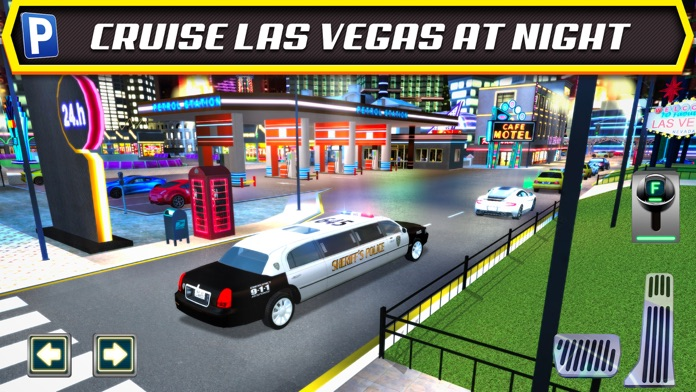Las Vegas Valet Limo and Sports Car Parking Screenshot