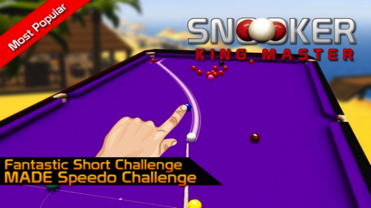 Pok Snooker King Master Bash : 8 Ball , 9 Ball , Pool - House of Fun screenshot-3
