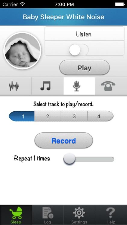Baby Sleep White noise by LuismiSoft