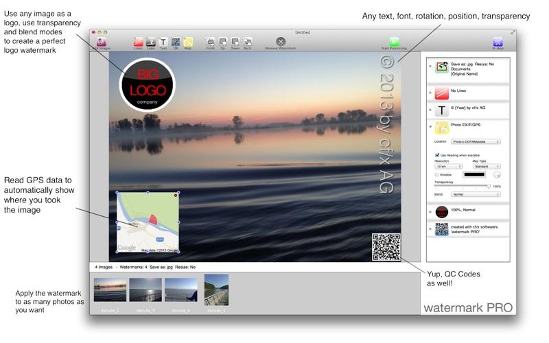 watermark PRO Screenshot