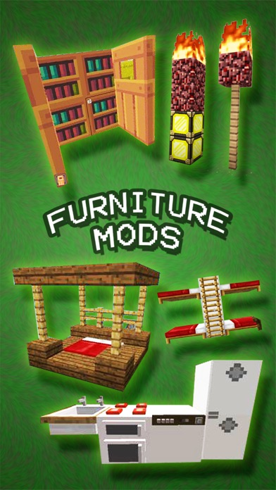 Screenshots of Furniture Mods FREE - Best Pocket Wiki & Tools for Minecraft PC Edition for iPhone