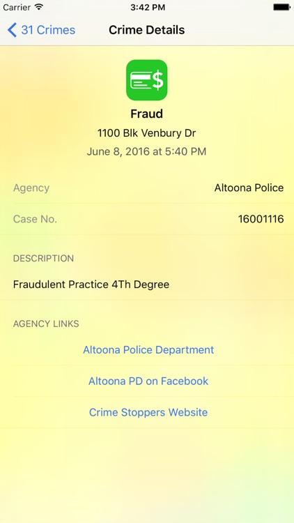 CrimeMapping screenshot-3