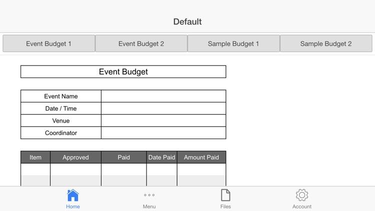 Event Budget screenshot-3
