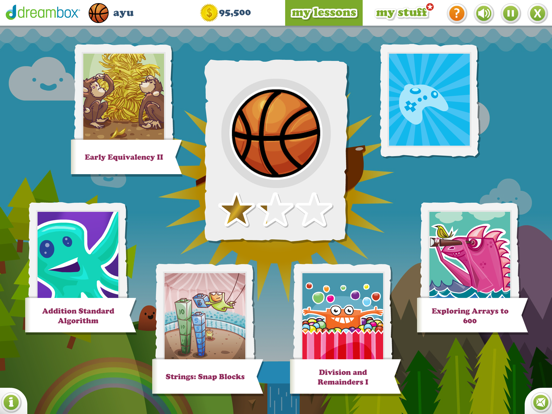iPad Image of DreamBox Learning Math