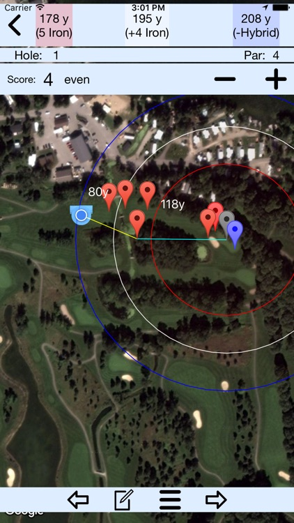How Far Am I? - GPS Golf Rangefinder Application