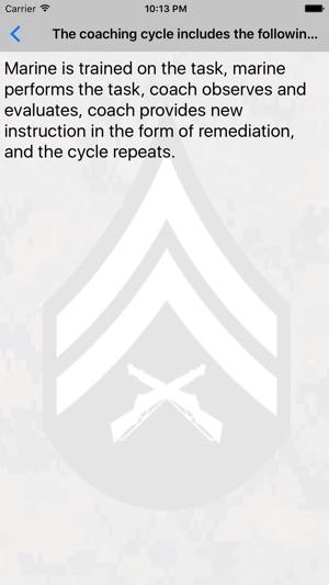leading marines cheat sheet