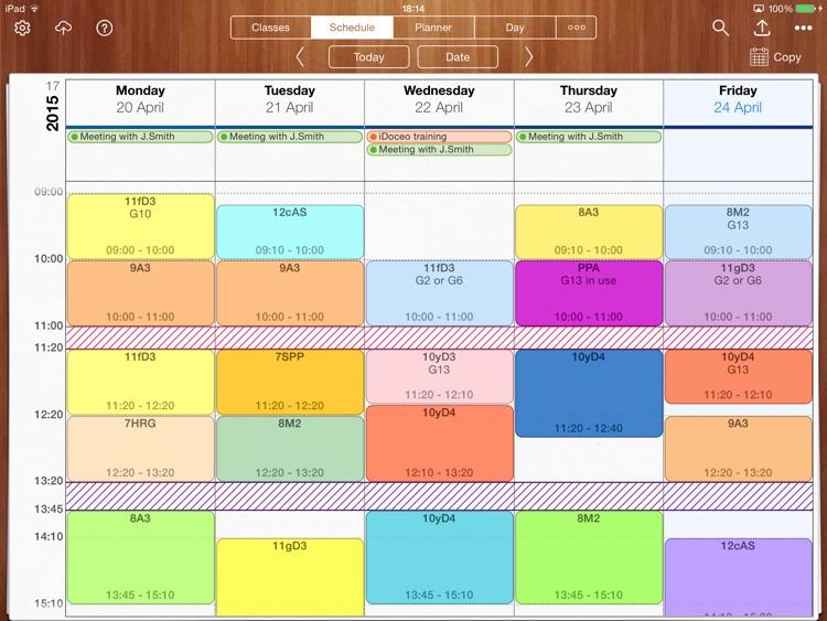 iDoceo - teacher's assistant gradebook and planner screenshot-3