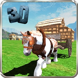 Pony Horse Cart Adventure Simulator 2016-Transport Fruits and Vegetables from Farm to City