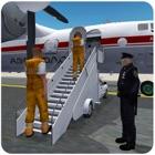 Prigionieri Jail Airplane Transporter 3D - Volo penale gioco di simulazione icon