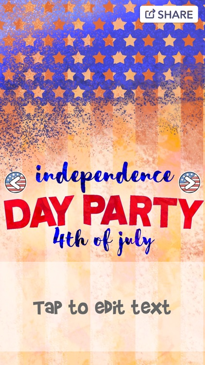 4th Of July Greeting Cards Create And Write Happy Independence Day