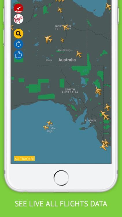 Australia Flights for Qantas, Virgin Air Flight Tracker & Radar