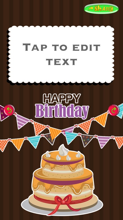 Happy Birthday Card Creator – Best Greeting e.Cards and Invitation.s Maker for your Bday Party screenshot-3