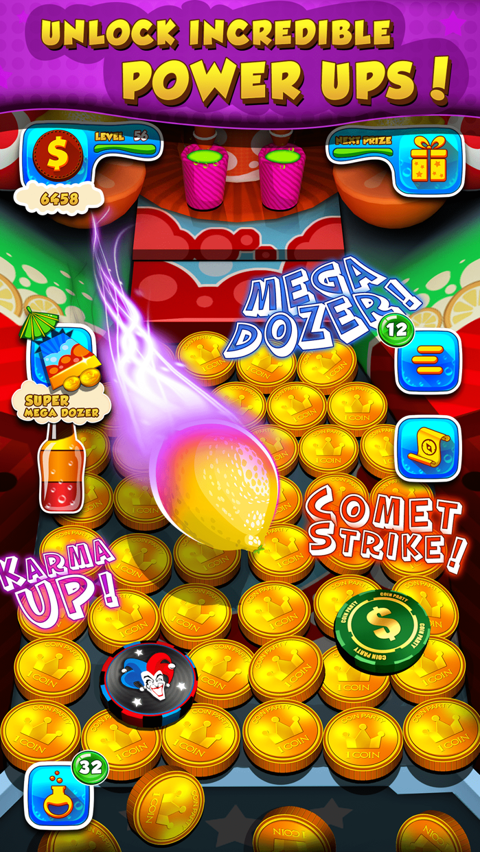 Soda Coin Party: Free Casino Pusher Screenshot