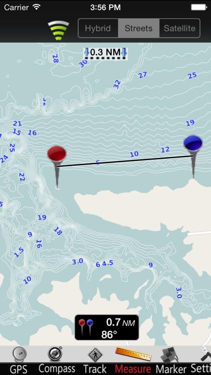North Dakota Lakes GPS Nautical charts