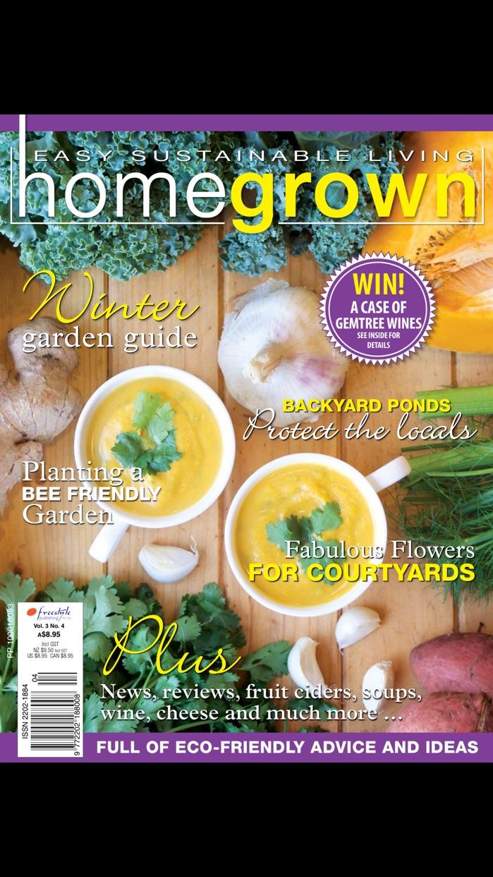 Home Grown Magazine Screenshot