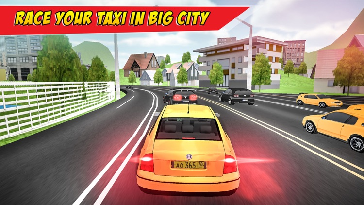 Modern City Taxi Driving Sim 3D: Ultimate Drive screenshot-3