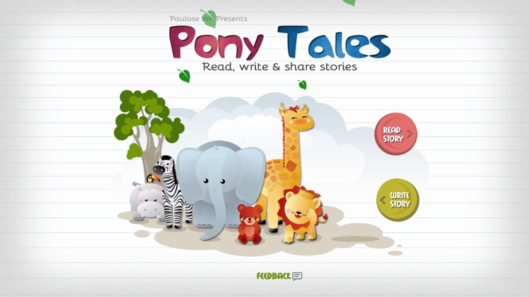 Pony Tales: Short stories for kids to read & write