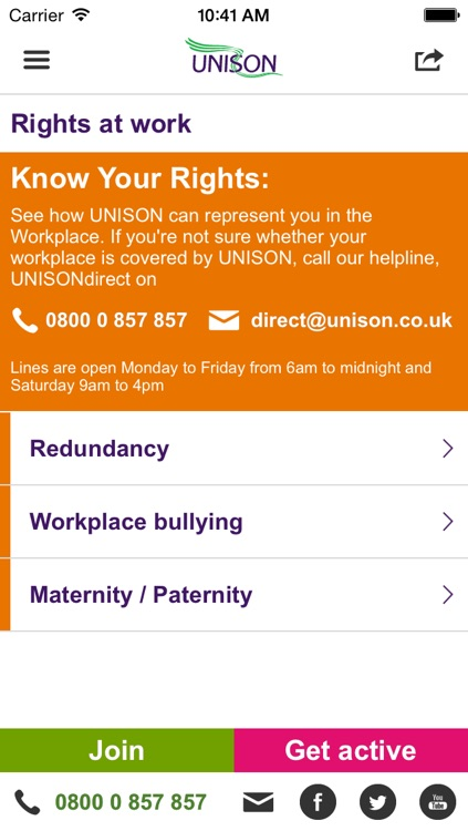 UNISON App screenshot-4