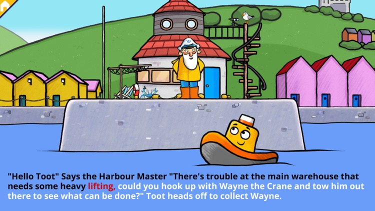 Toot to the Rescue - Story Book for Kids