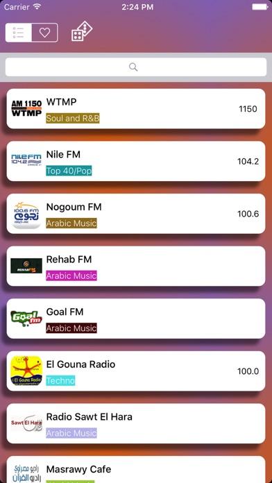 Radio Egypt: محطات الإذاعات المصرية - راديو مصر -anghami FM - AMلقطة شاشة1