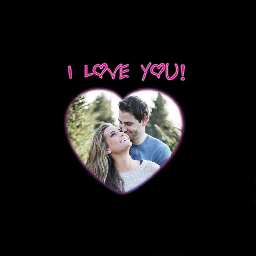 I Love You Photo Frames - Instant Frame Maker & Photo Editor Icon